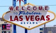Las Vegas Ortsschild