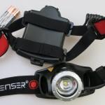 Test der LED LENSER Stirnlampe H7.2