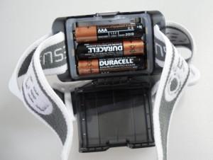 LED LENSER SEO 5 - Batteriefach