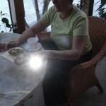 Led Lenser Taschenlampe verschenkt