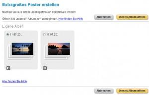 snapfish - Foto auswählen