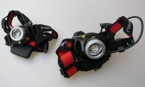 Stirnlampentest mit der LED LENSER H7 und der H7.2