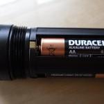 LED LENSER X14 Batterieschacht